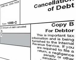 Forgiven Debt and Taxes