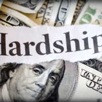 Dealing With A Financial Hardship