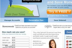 Review of DebtGoal.com – A Do It Yourself Debt Reduction Tool