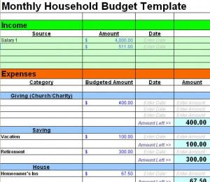 Printables Free Household Budget Worksheet the ultimate collection of free budget worksheets spreadsheets freebudgetspreadsheet